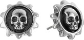 King Baby Studio Gear Skull Post Earrings Earring