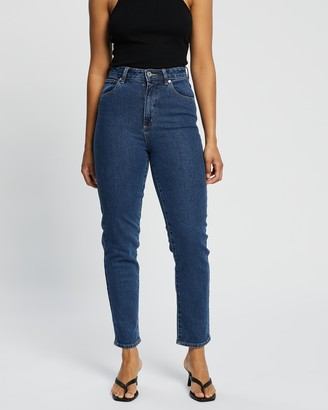 Abrand - Women's Blue Crop - A '94 High Slim Jeans - Size 6 at The Iconic