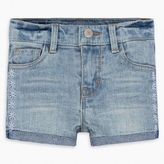 Levi's Toddler Girls (2T-4T) Embroidery Shorty Short 4T