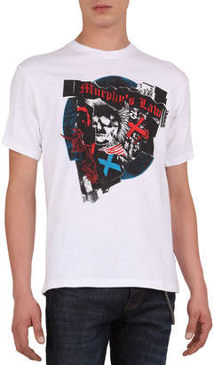 The Kooples Men's Skull & Guitar Graphic Print T-Shirt