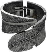 Mudd Feather Cuff Bracelet