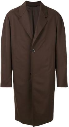Lemaire Oversized Single-Breasted Coat