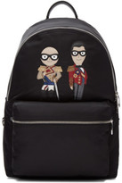 Dolce & Gabbana Black Knight Designers Backpack