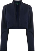 Lauren Ralph Lauren cropped knitted cardigan