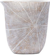 ZUO White Poly Large Jar