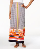 ECI Printed Maxi Skirt