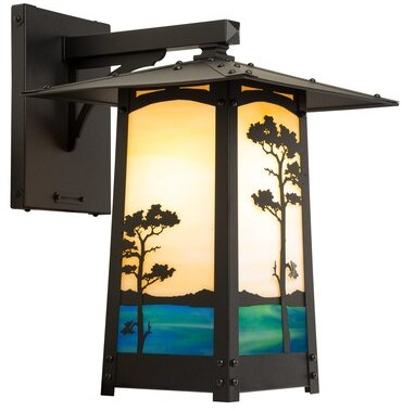 World Menagerie Bonfield Outdoor 3 Light Lantern Head Shopstyle