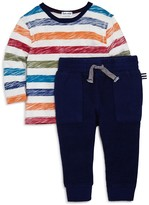 Splendid Boys' Striped Tee & Joggers