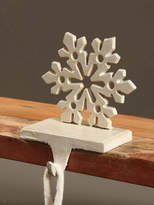 HomArt Snowflake Stocking Holder