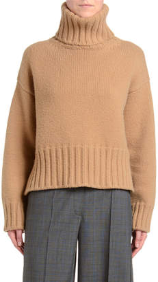 Prada Heavy Cashmere Turtleneck Sweater