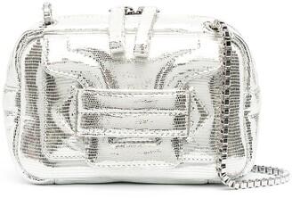 Pierre Hardy Lizard-Effect Leather Crossbody Bag