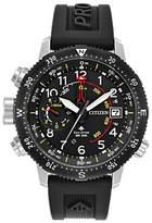 Citizen Eco-drive Promaster Altichron Polyurethane Strap Watch, Black