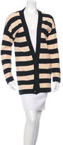 Sonia Rykiel Long Sleeve Striped Cardigan