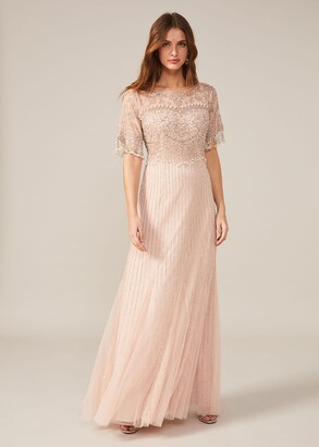Phase Eight Leonie Pearl Fringe Dress