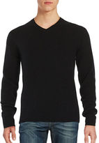 Black Brown 1826 V-Neck Sweater