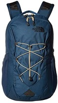 The North Face Jester (Blue Wing Teal/Twill Beige) Backpack Bags