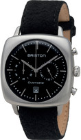 Briston 16140.S.V.1.LFB Clubmaster Vintage stainless steel and leather watch