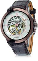 Maserati Ingegno Brown Stainless Steel Case and Embossed Leather Strap Men's Watch