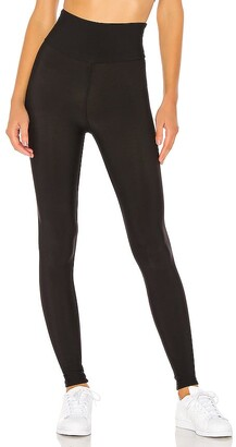 Plush Fleece Lined High Waisted Matte Legging