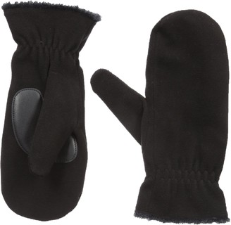 Isotoner womens Smartouch Stretch Fleece Mitten Cold Weather Gloves