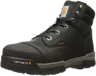 Carhartt Men's Ground Force 6-Inch Black Waterproof Work Boot - Composite Toe
