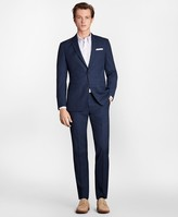 Brooks Brothers Milano Fit Textured Weave 1818 Suit