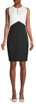 Ted Baker Colorblock Mini Sheath Dress