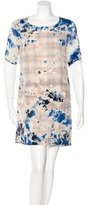 Raquel Allegra Tie-Dye Shift Dress
