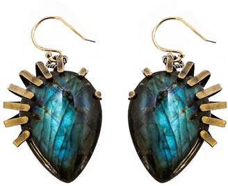 Cynthia Desser Labradorite Drop Earrings
