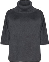 Isolde Roth Plus Size Cotton blend turtleneck