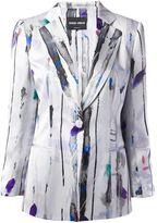 Giorgio Armani patterned blazer