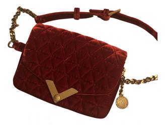 The Kooples Stella Red Velvet Handbags