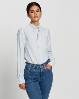 Polo Ralph Lauren Slim Fit Kendal Long Sleeve Shirt - Exclusives