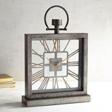 Pier 1 Imports Galvanized Square Desk Clock