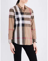 Burberry Core checked cotton shirt