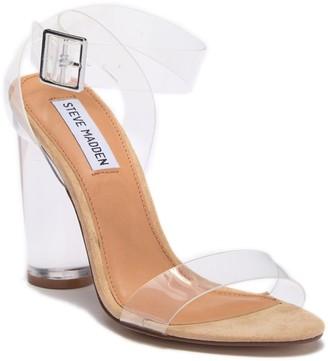 Steve Madden Clear Heeled Sandal