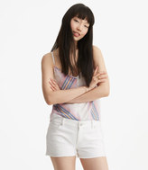LOFT Lou & Grey Patchwork Cut Off Denim Shorts