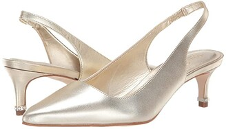 Lilly Pulitzer Erin Slingback Pump (Gold Metallic) Women's Sandals