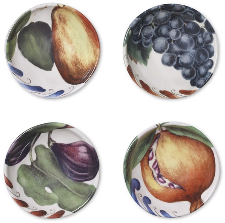 Williams-Sonoma Painted Fruit Dipping Bowls, Set of 4