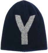 Y's Y logo beanie