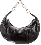 Valentino Embossed Leather Hobo