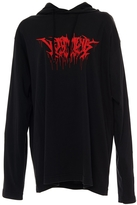 Vetements Printed Cotton Sweatshirt