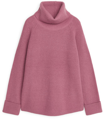 Arket Relaxed Roll-Neck Jumper