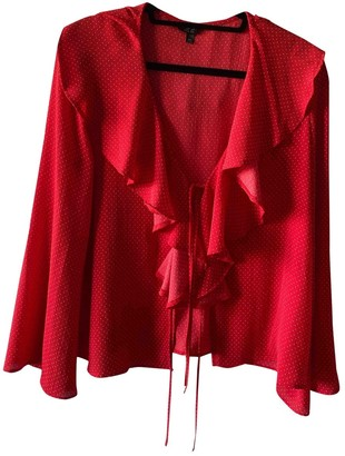 Topshop Tophop Red Top for Women