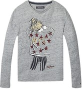 Tommy Hilfiger Th Kids Nyc Stars Long Sleeve Tee
