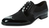 Mezlan Narrow-Toe Wingtip Derby Shoe
