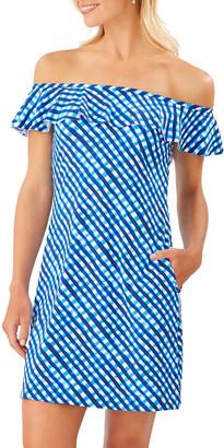 Tommy Bahama Harbour Island Ruffle Spa Dress