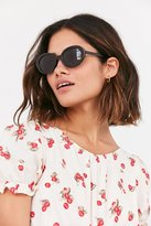 Urban Outfitters Sadie Slim Oval Sunglasses