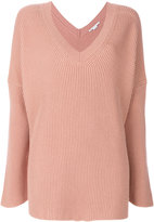 Stella McCartney ribbed V-neck jumper