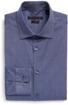 John Varvatos Men's Slim Fit Stretch Solid Dress Shirt